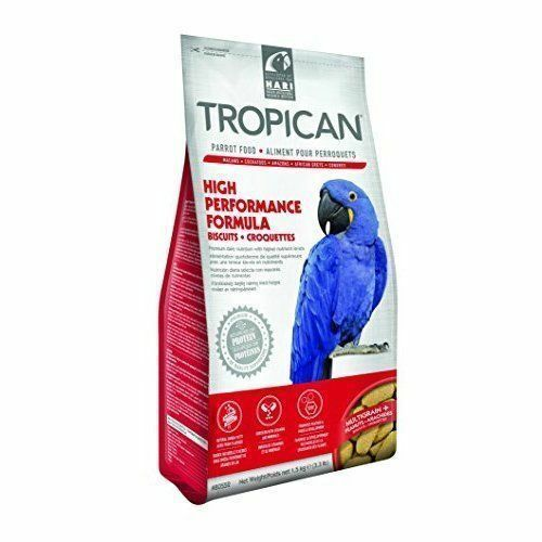 Hari Tropican High Performance Biscuits for Parrots , 3.3-lbs Size: 3.3-lbs