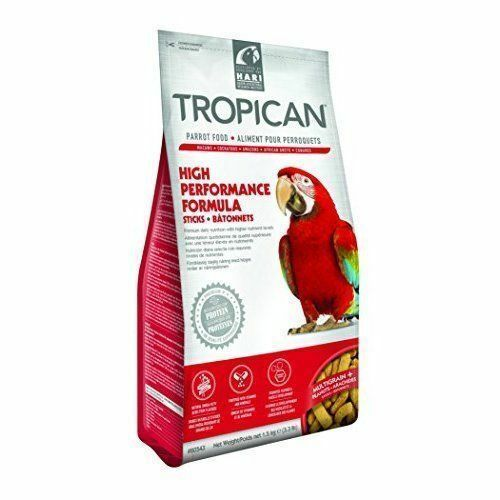 Hari Tropican High Performance Sticks for Parrots, 3.3-lbs Size: 3.3-lbs