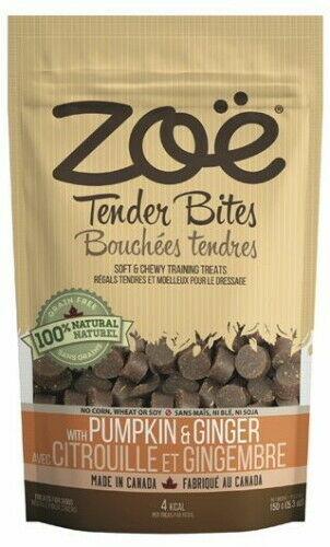 Zoe Tender Bites Pumpkin & Ginger, 5.3-oz