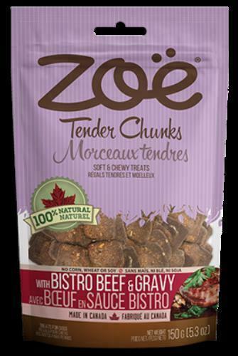 Zoe Tender Chunks Bistro Beef & Gravy, 5.3-oz