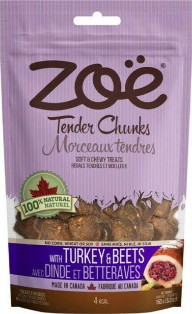 Zoe Tender Chunks Turkey & Beets, 5.3-oz