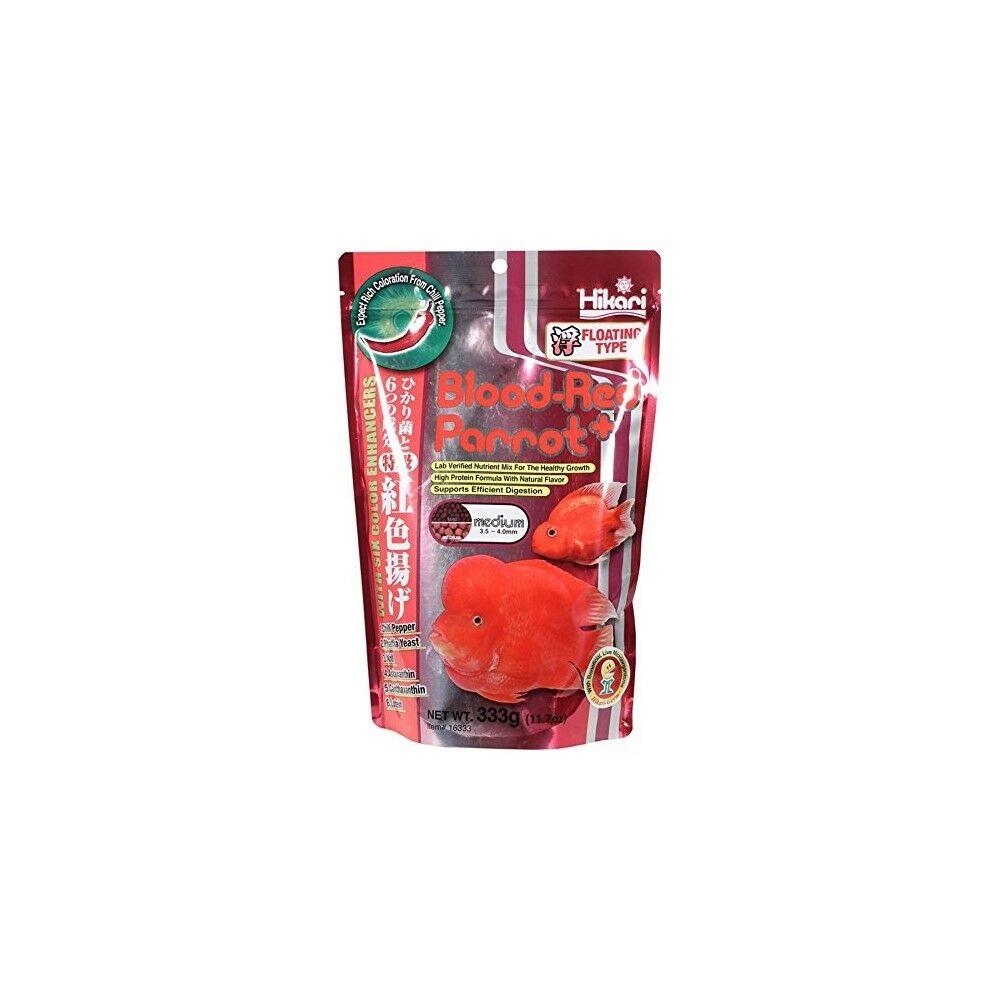 Hikari Blood Red Parrot Floating Food Medium, 11.7oz
