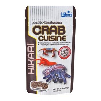 Hikari Crab Cuisine Sinking Sticks for Bottom Feeders & Crustacean, 1.76-oz