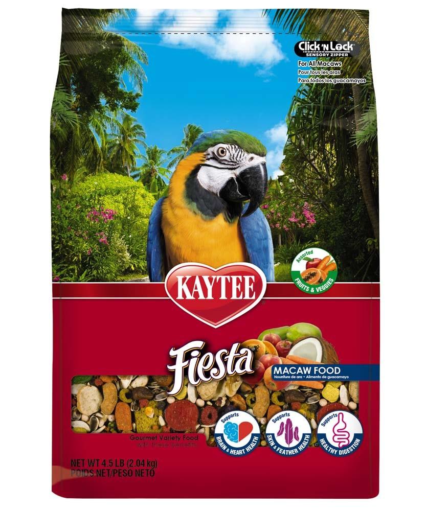 Kaytee Fiesta Max Macaw, 4.5-lbs