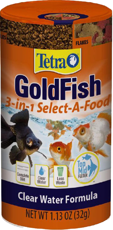 Tetra Goldfish 3-in-1 Select-A-Food