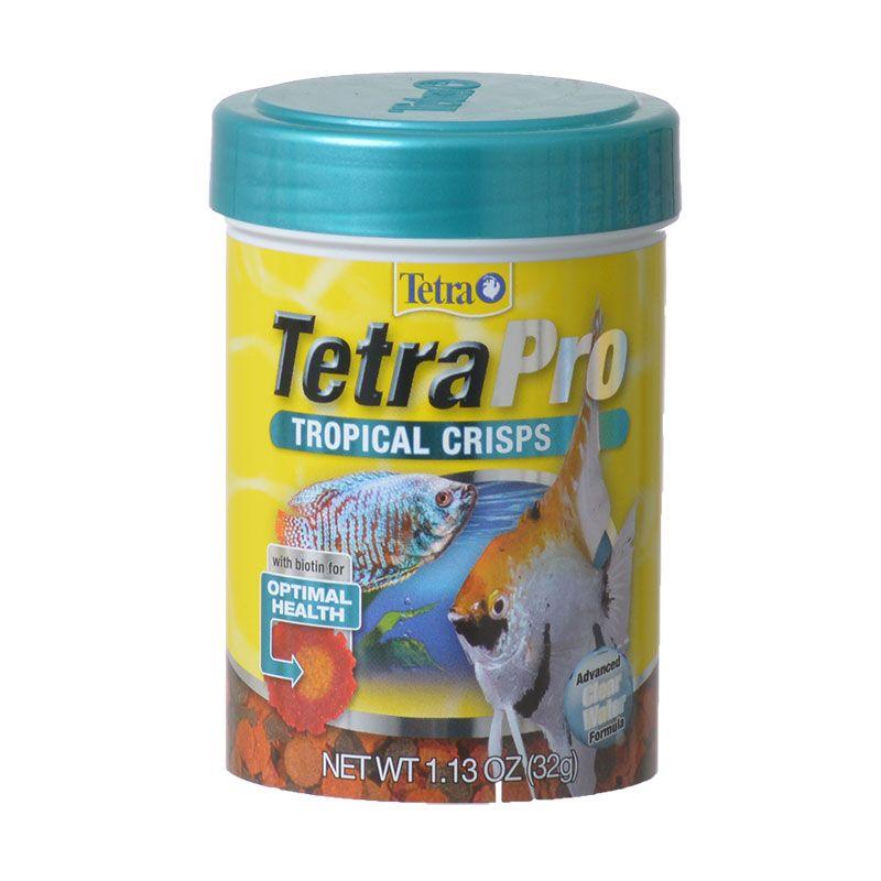 Tetra TetraPro Tropical Crisps Fish Food, 1.13-oz