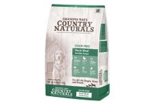 Grandma Mae's Country Naturals Grain-Free Duck Meal Sensible Recipe Dry Dog Food, 9-oz