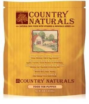 Grandma Mae's Country Naturals Puppy Food Premium All Natural Chicken & Fish Dry Dog Food, 9-oz