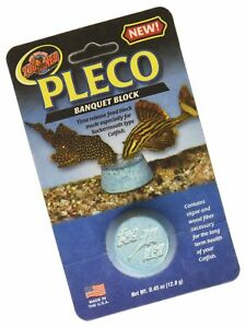 Zoo Med Pleco Banquet Block Fish Food, .45-oz