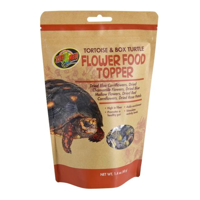 Zoo Med Flower Food Topper Tortoise & Box Turtle Food