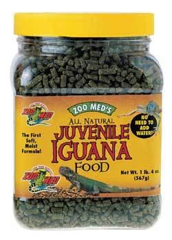 Zoo Med Natural Juvenile Iguana Food, 10-oz