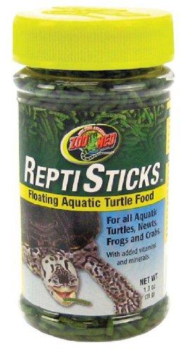 Zoo Med ReptiSticks Floating Aquatic Turtle Food, 1-oz