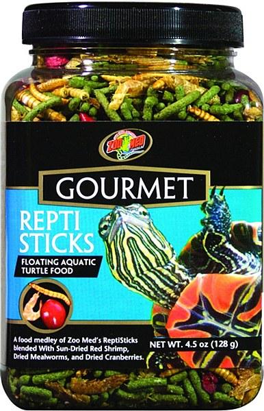 Zoo Med Gourmet ReptiSticks Turtle Food, 4.5-oz