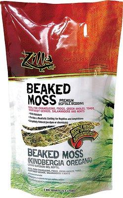 Zilla Beaked Moss Premium Reptile Bedding