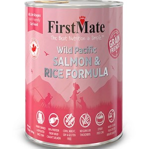 FirstMate Grain Friendly Wild Salmon & Rice Cat Wet Food