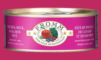 Fromm Four Star Chicken, Duck, and Salmon Pate Canned Cat Food