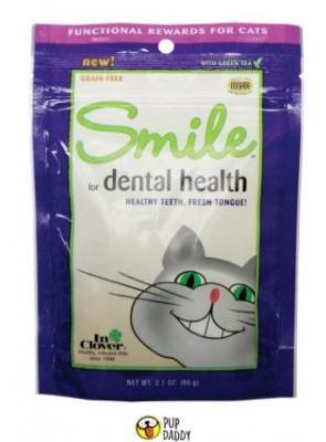 inClover Smile Dental Health Cat Supplement, 2.1-oz