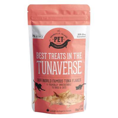 Granville Island Pure Protein Tuna Flakes Cat & Dog Treats, 1.1-oz