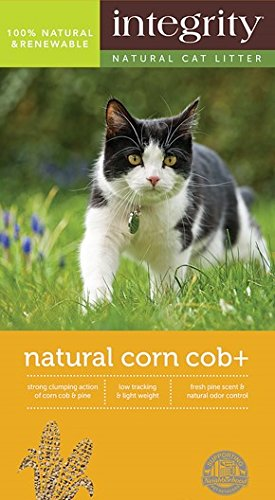 Integrity Natural Corn Cob Cat Litter, 16-lb