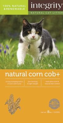 Integrity Natural Corn Cob Cat Litter, 8-lb