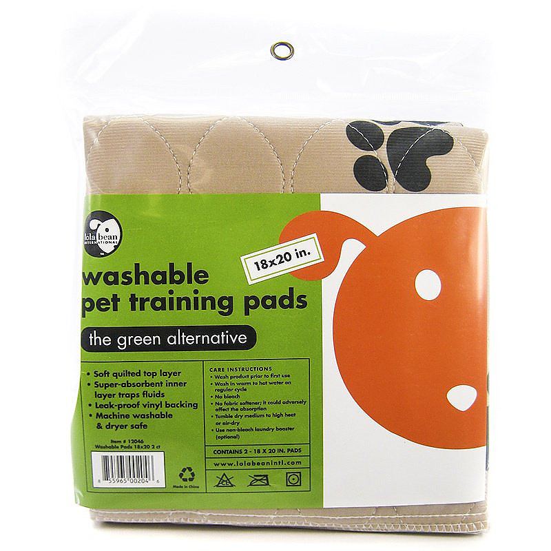 Lola Bean Washable Pet Training Pads 18x20