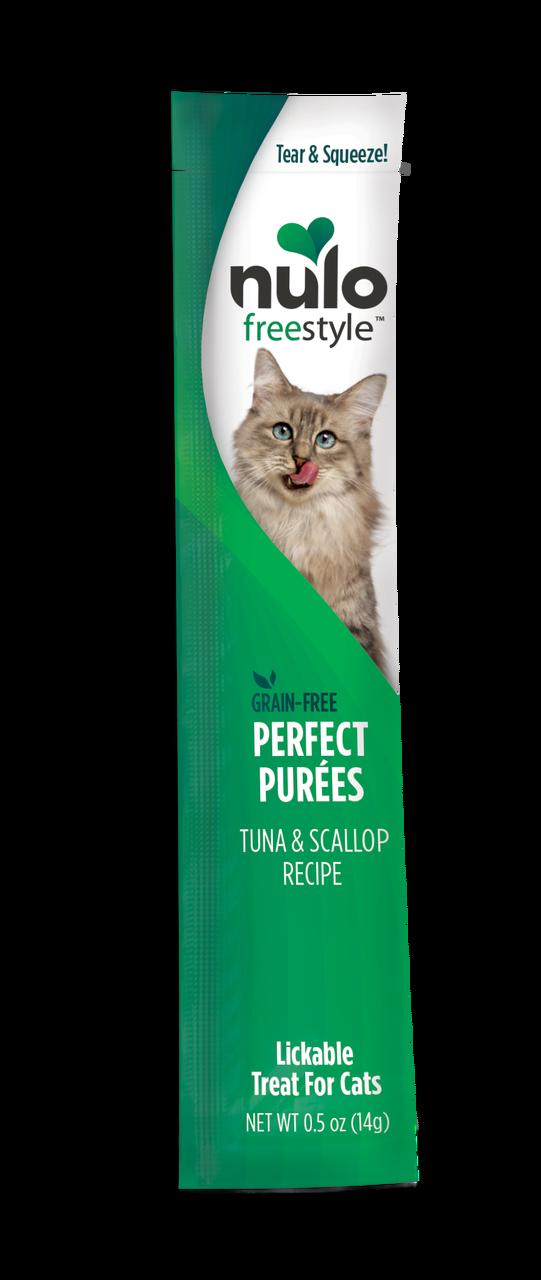 Nulo Cat FreeStyle Perfect Puree Tuna & Scallop Lickable Cat Treat, 0.5-oz