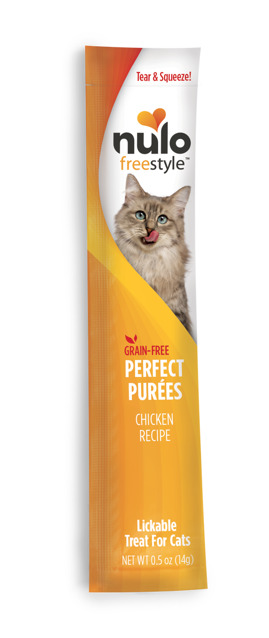 Nulo Cat FreeStyle Perfect Puree Chicken Lickable Cat Treat, 0.5-oz