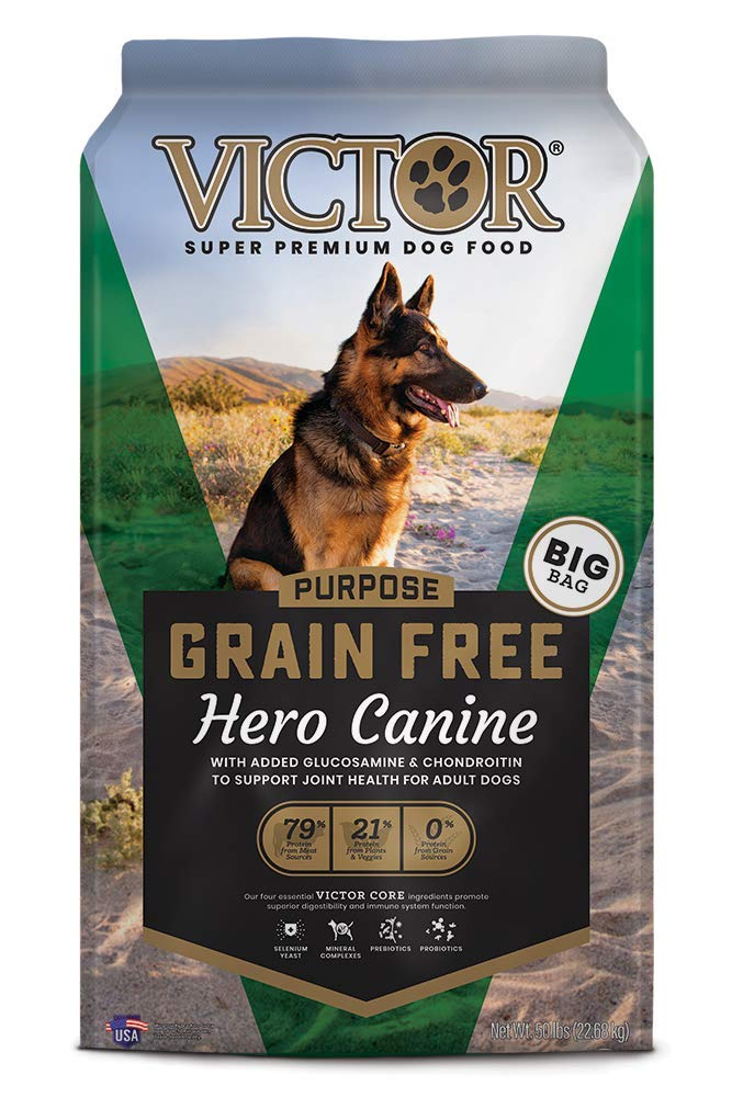 Victor Hero Grain-Free Dry Dog Food, 50-lb