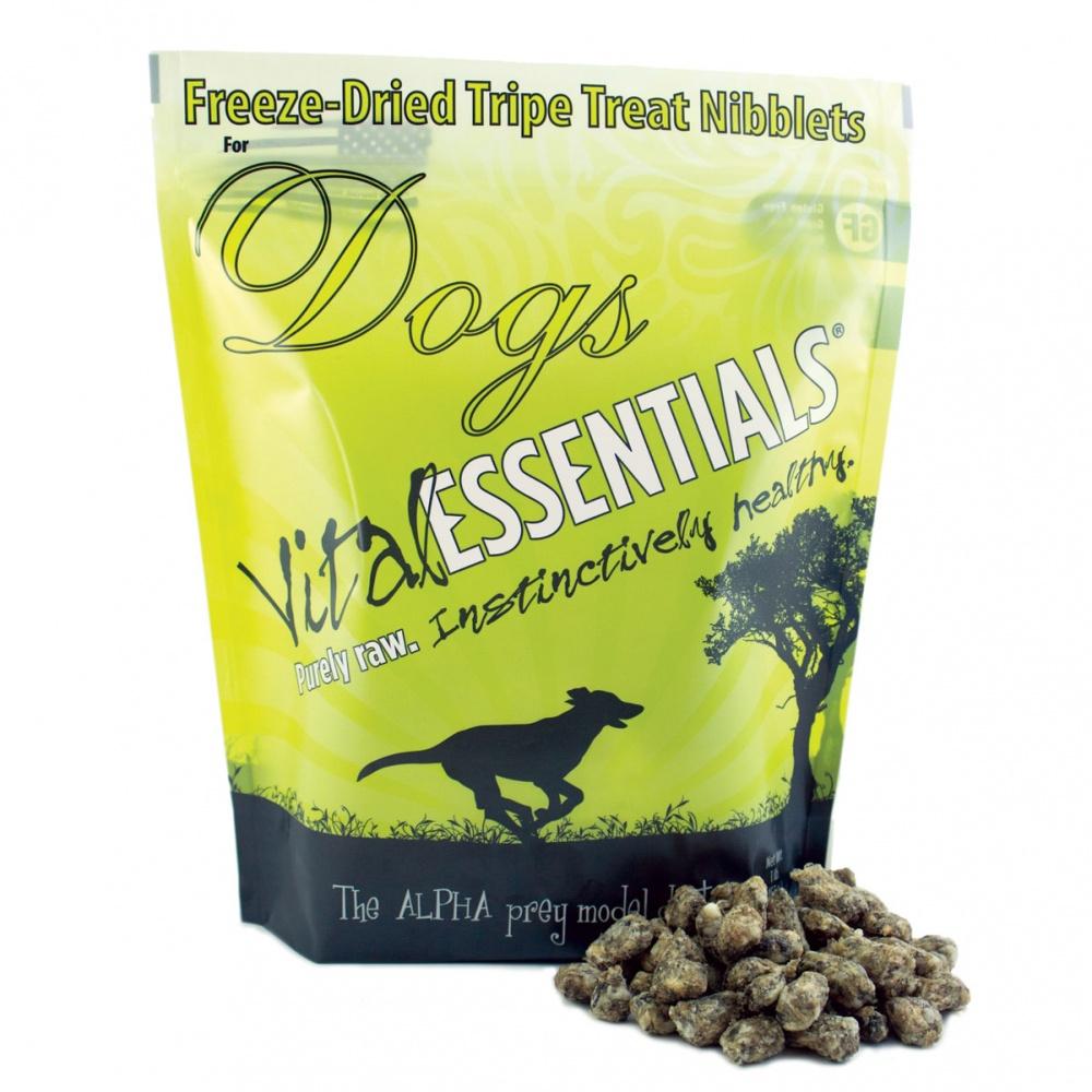 Vital Essentials Treats Tripe Nibblets Freeze-Dried Dog Treats, 1-lb bag