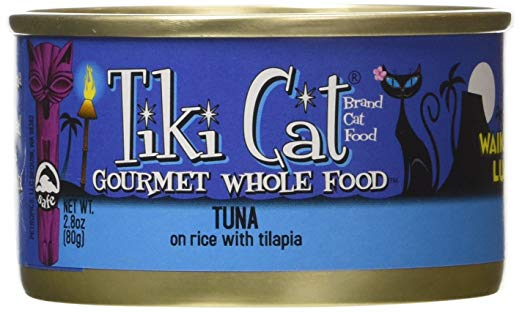 Tiki Cat Waikiki Luau Tuna on Rice with Talapia Canned Cat Food