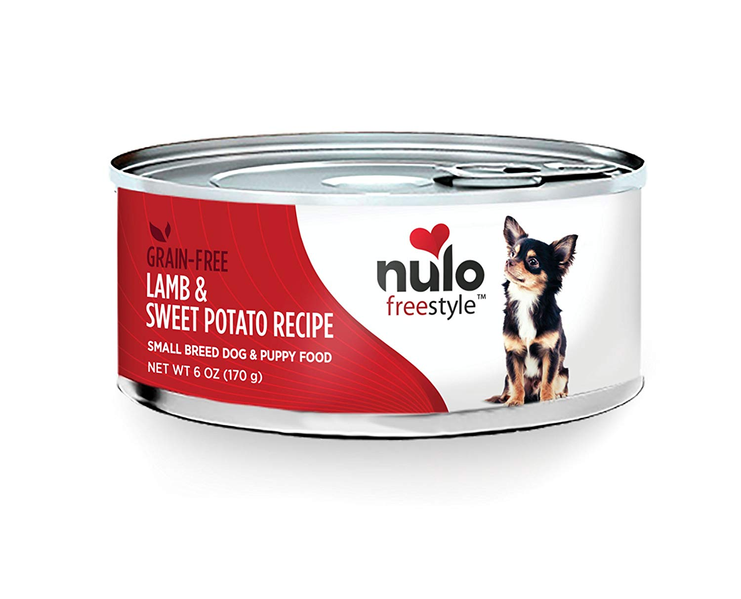Nulo Dog Freestyle Pate Lamb & Sweet Potato Recipe Grain-Free Small Breed & Puppy Canned Dog Food, 6-oz