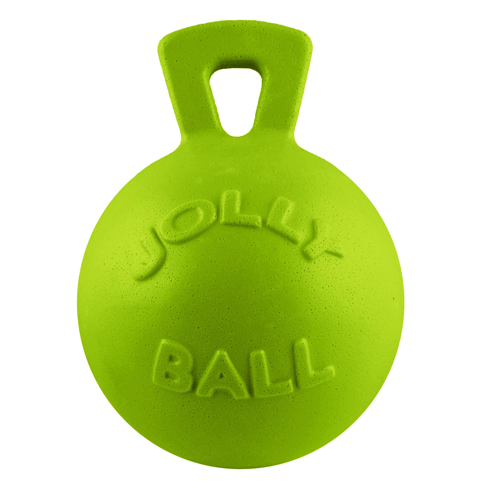 Jolly Pets Tug-n-Toss Dog Toy, Green Apple