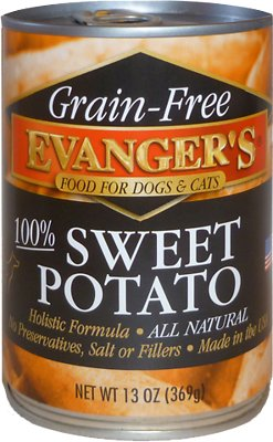 Evanger's Grain-Free Sweet Potato Canned Dog & Cat Food Supplement
