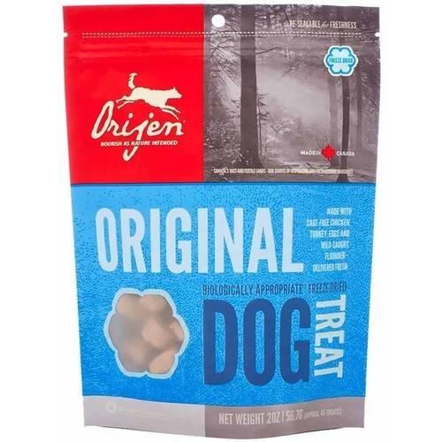 ORIJEN Freeze Dried Original Dog Treats, 2-oz