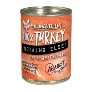 Against the Grain Nothing Else Turkey Grain-Free Canned Dog Food