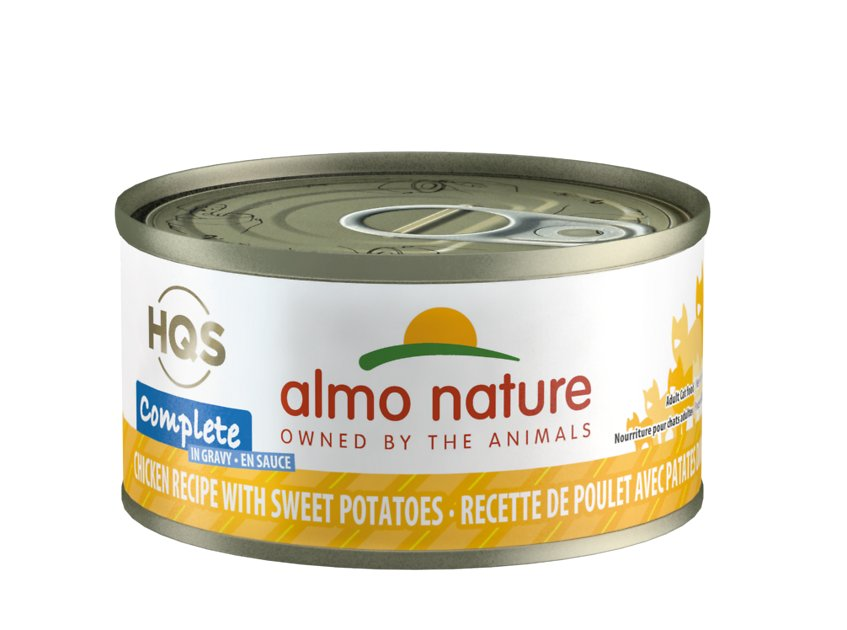 Almo Nature Complete Chicken with Sweet Potatoes Grain-Free Canned Cat Food