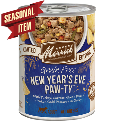 Merrick's Limited Edition Grain-Free New Year's Eve Pawty Canned Dog Food