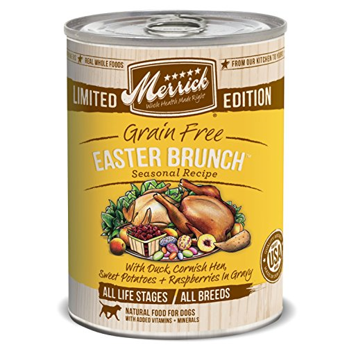 Merrick Limitied Edition Grain-Free Easter Brunch Canned Dog Food, 12.7-oz