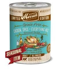Merrick Limited Edition Grain-Free Chicken Spice & Everything Nice Adult Canned Dog Food
