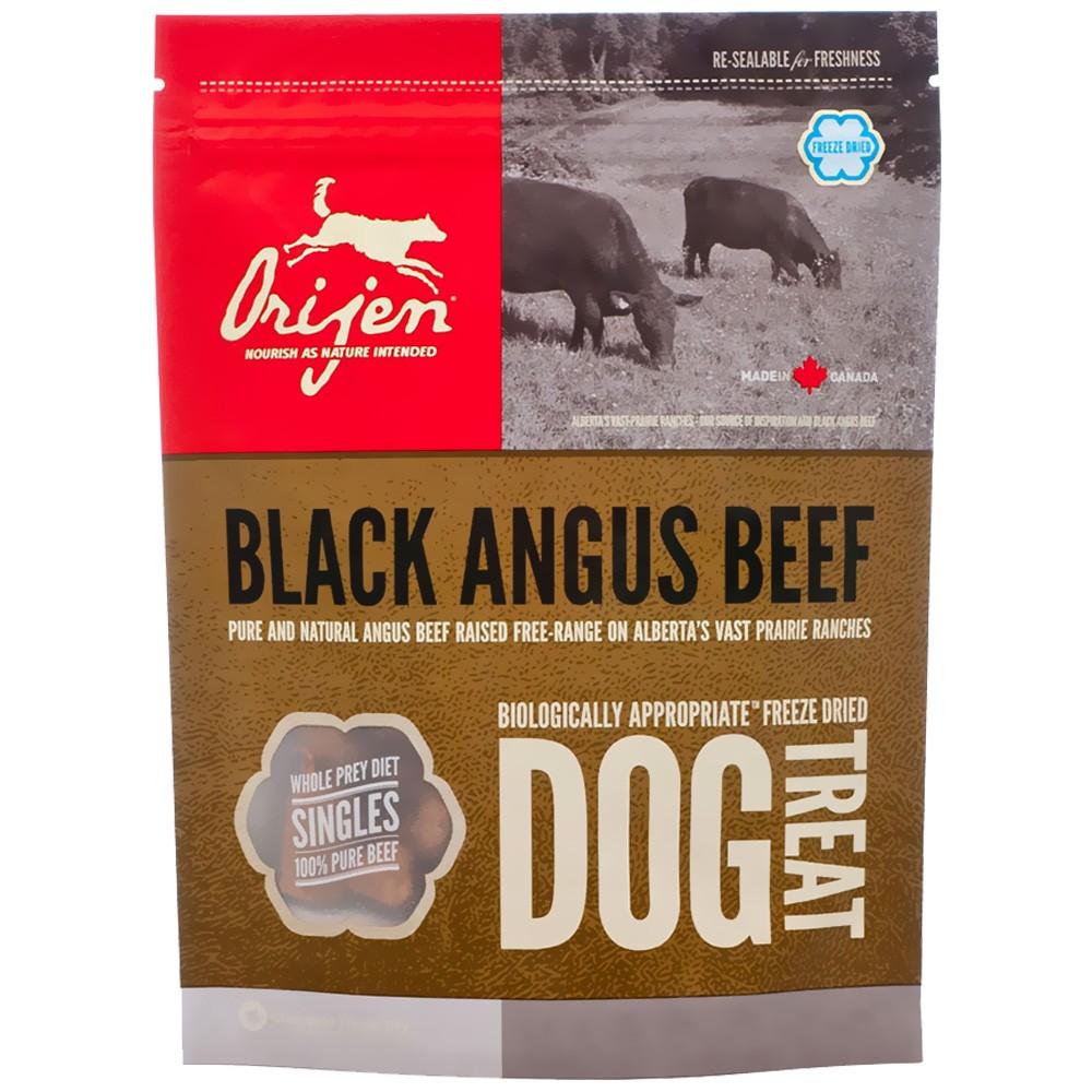Orijen Treats Black Angus Beef Freeze-Dried Dog Treats, 3.5-oz