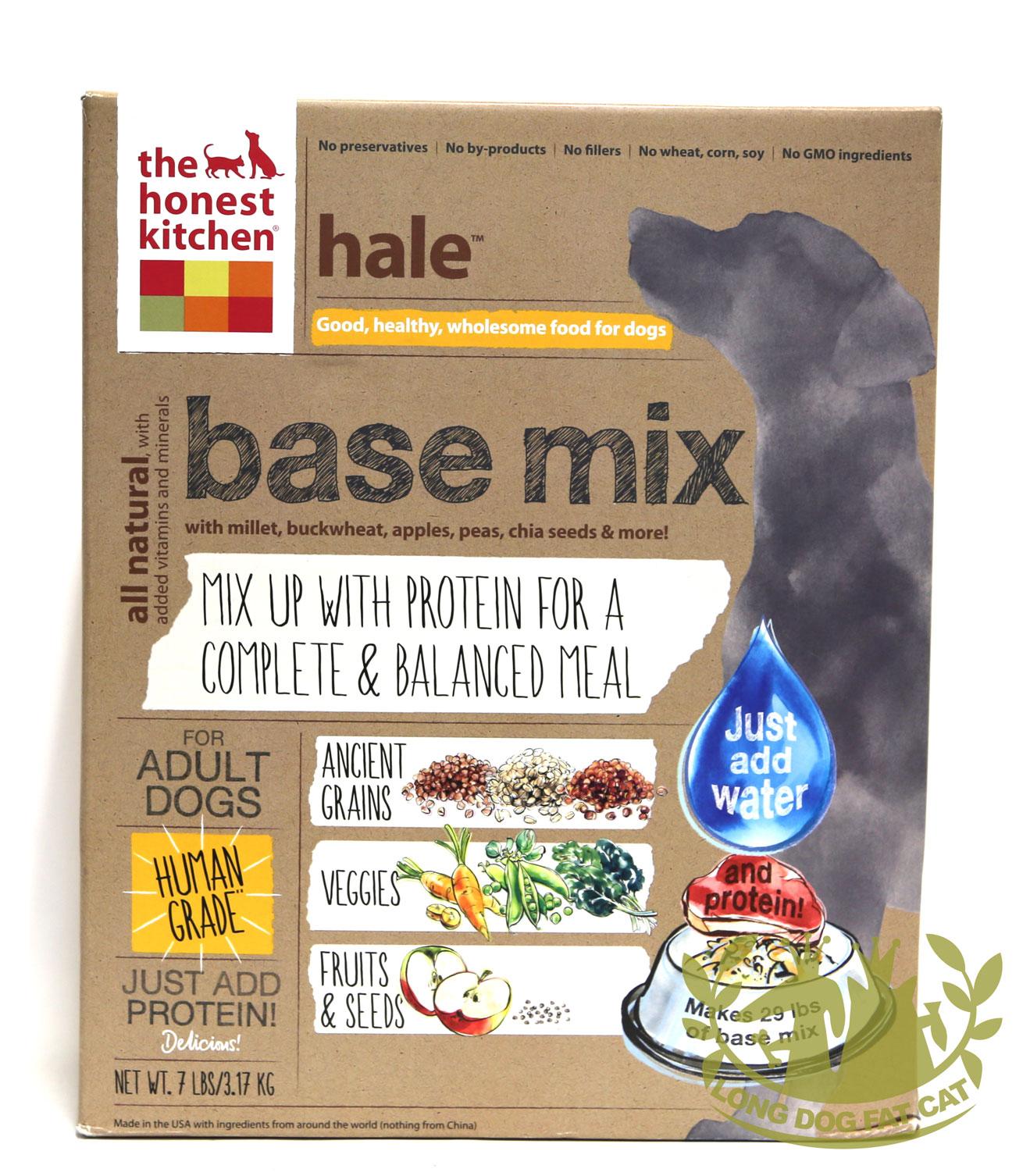 The Honest Kitchen Hale Whole Grain Base Mix Dog Food, 7-lb