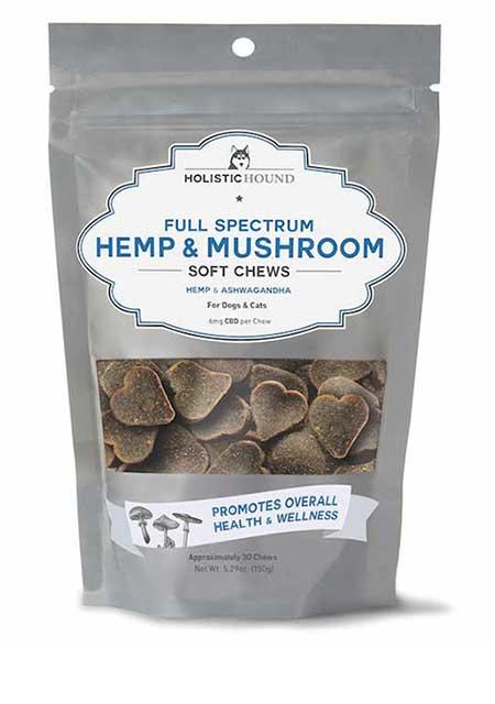 Holistic Hound Full Spectrum 6 Mg & Mushroom Soft Chews