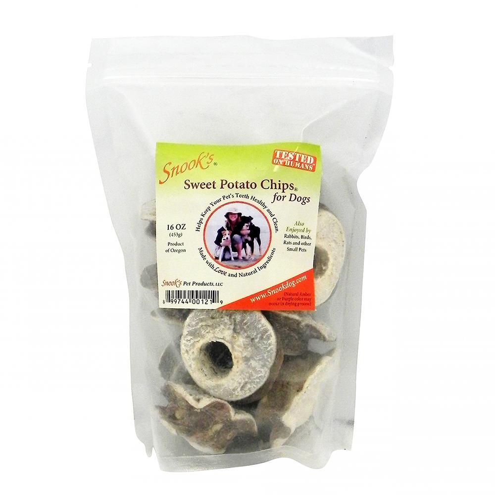 Snook's GMO-Free Sweet Potato Dog Chip, 1-lb bag