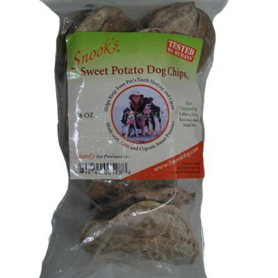 Snook's GMO-Free Sweet Potato Dog Chips, 4-oz