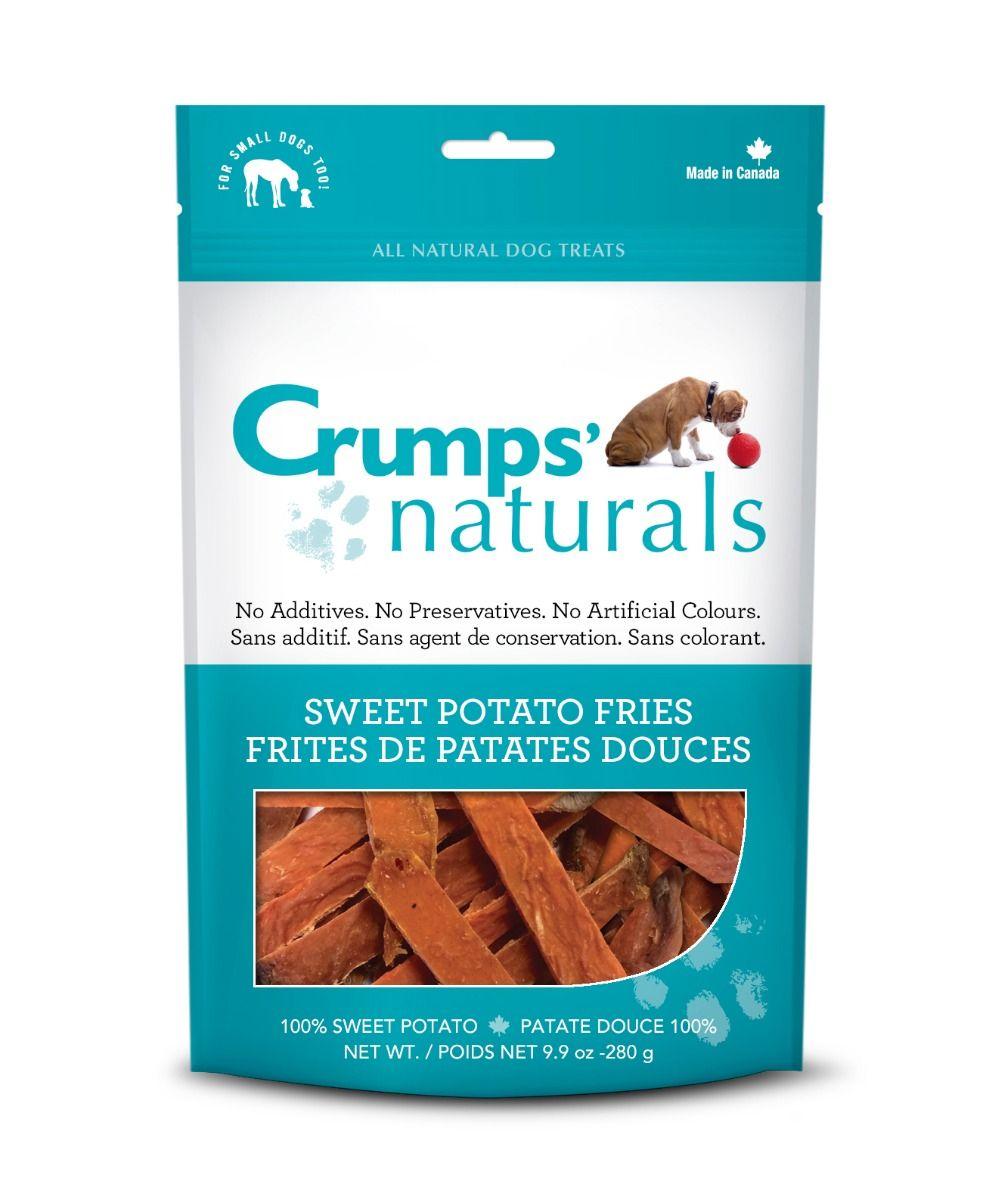 Crumps' Naturals Sweet Potato Fries Dog Treats, 4.8-oz, 4.8-oz