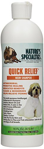 Nature's Specialties Quick Relief Neem Pet Shampoo, 16-oz