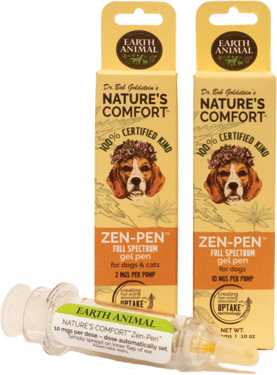 Earth Animal Nature's Comfort Zen-Pen For Dogs and Cats, 10-mg