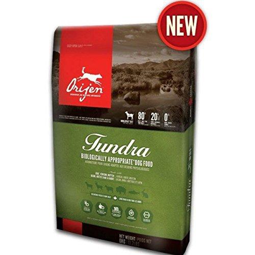 Orijen Tundra Goat Venison Bison Dry Dog Food, 25-lb