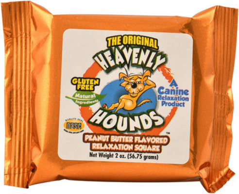 Heavenly Hounds Peanut Butter Flavored Relaxation Square Dog Treats