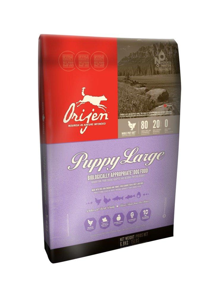 ORIJEN Puppy Large Breed Dry Dog Food, 28.6-lb